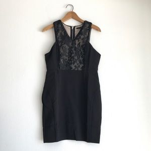 CALS Little Black Dress Lace Size Medium